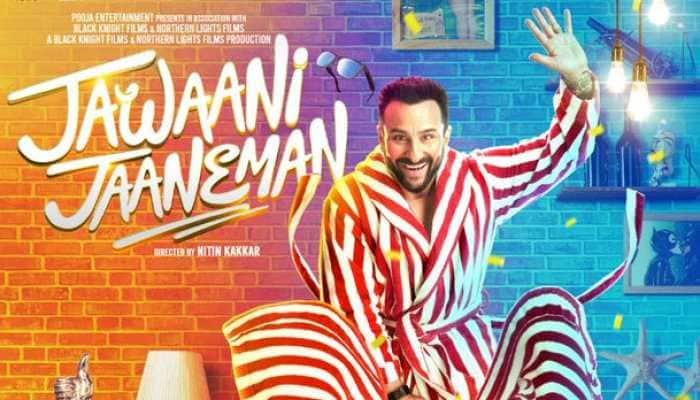 Check new quirky poster of Saif Ali Khan's 'Jawaani Jaaneman'!