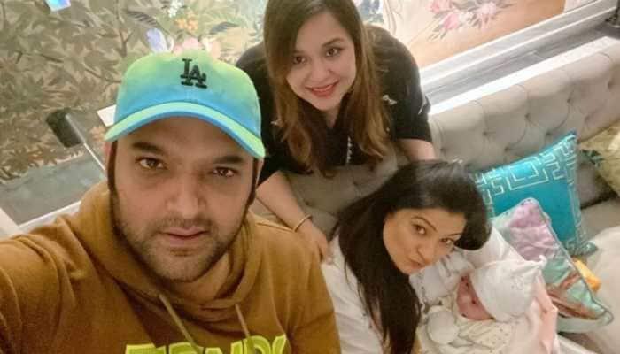 Pics of Kapil Sharma and Ginni Chatrath's daughter Anayra go viral again