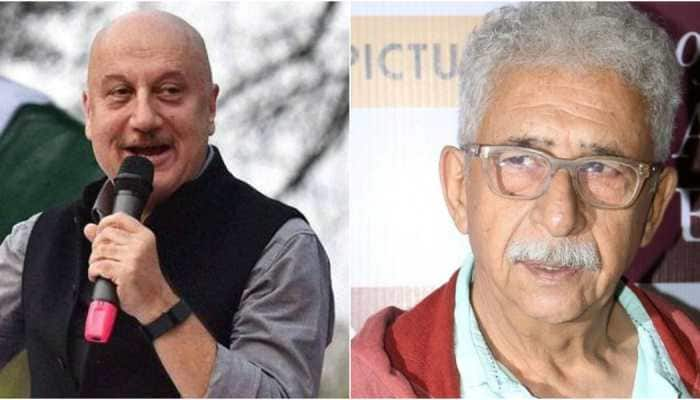 He is frustrated: Anupam Kher hits out at Naseeruddin Shah for his 'clown' remark