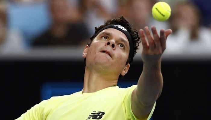 Big-serving Milos Raonic knocks Stefanos Tsitsipas out of Australian Open