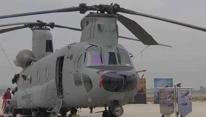 Chinook, Apache helicopters make debut on Republic Day flypast