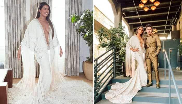 Priyanka Chopra's navel-grazing gown at Grammys invites a troll fest on social media