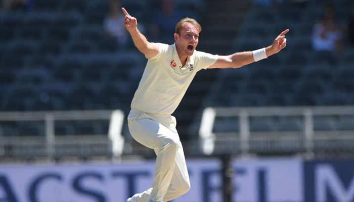 Stuart Broad fined 15% of match fee for breaching ICC Code of Conduct
