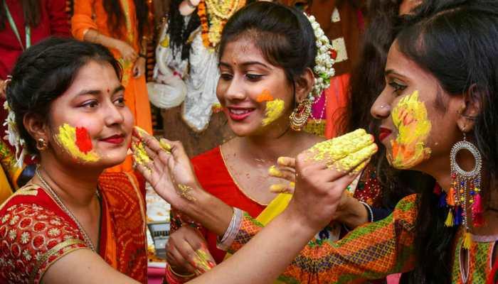 India celebrates Saraswati Puja with full fervour - In pics