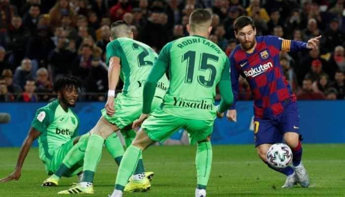 Lionel Messi powers Barcelona into Copa del Rey quarterfinals