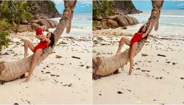 Sea, sand and rain dance: Amy Jackson is living her best life in Seychelles