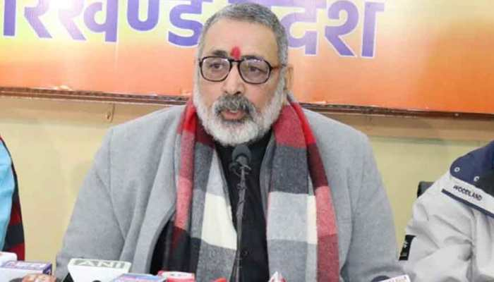 Union Minister Giriraj Singh accuses Kejriwal of doing appeasement politics in Delhi
