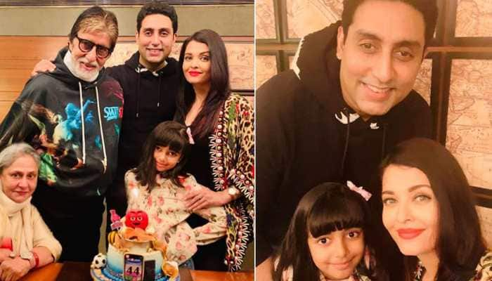 Bollywood News: Aishwarya Rai shares family pic on hubby Abhishek Bachchan's birthday