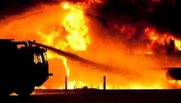 Massive fire guts 7 shops in Siliguri, investigation underway