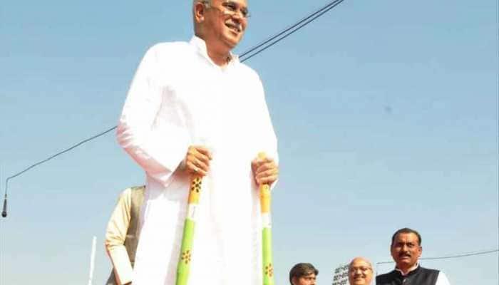 Chhattisgarh CM Bhupesh Baghel campaigns in Delhi