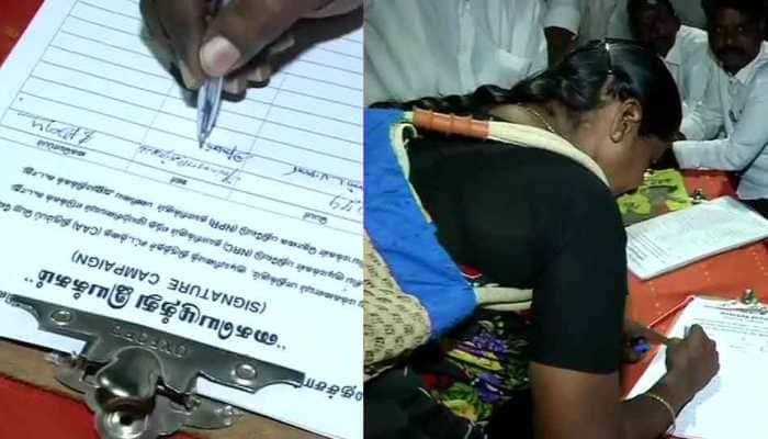 MK Stalin-led DMK begins signature campaign against CAA, NRC, NPR
