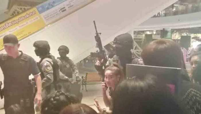 Soldier kills 20 in shooting rampage in Thailand, holes up in shopping mall