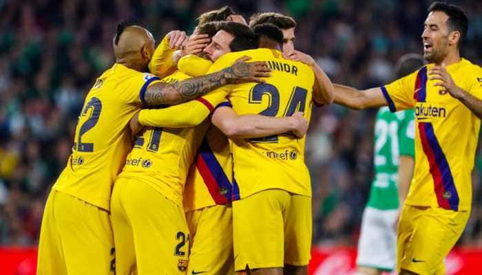 Barcelona clinch a tense win over Real Betis