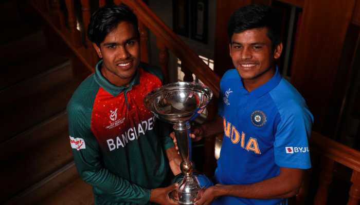 Bangladesh Under 19 players celebrate aggressively, taunt Indian cricketers; India U19 captain Priyam Garg calls it 'dirty'