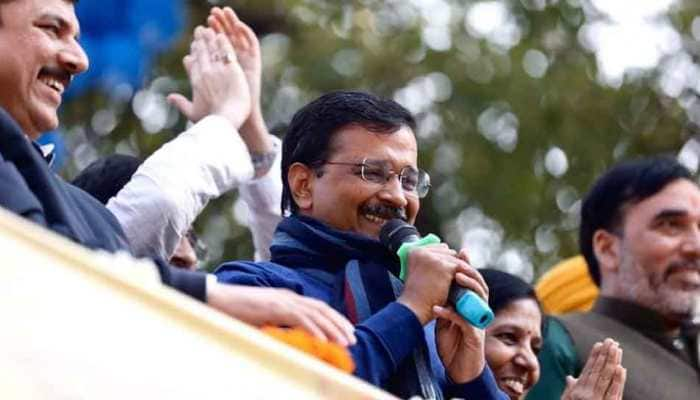 Arvind Kejriwal-led AAP sweeps BJP aside in Delhi assembly election, retains power; Congress ends with zero