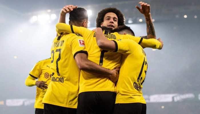 Borussia Dortmund cruise past Eintracht Frankfurt 4-0 to go second in Bundesliga