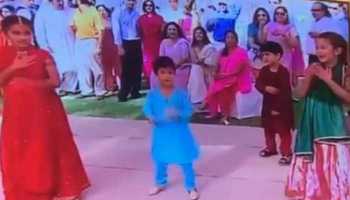 Watch: Little Ananya Panday dances with Shanaya Kapoor and Nirvan Khan to 'It's The Time To Disco' in unseen throwback video