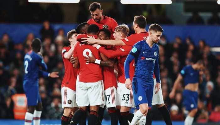 Premier League: Manchester United stun Chelsea 2-0 at Stamford Bridge