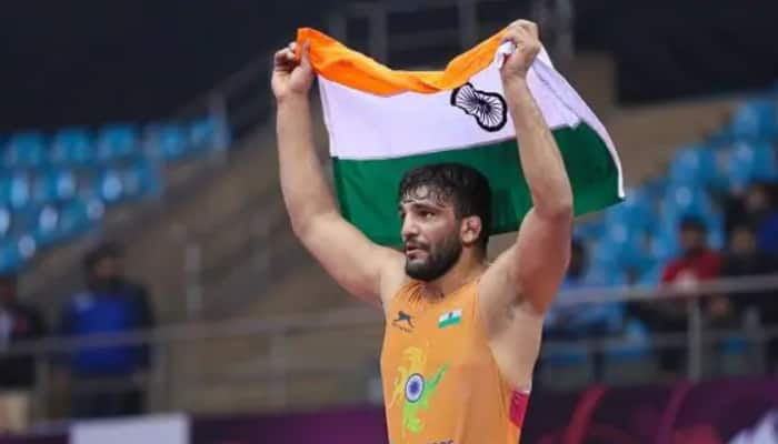 Sunil Kumar wins gold in Asian Wrestling Greco-Roman Championship