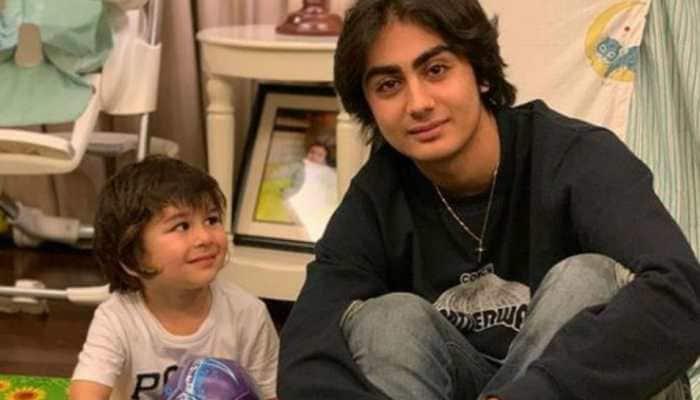 Taimur Ali Khan's adorable pic with Malaika Arora's son Arhaan Khan delights the internet