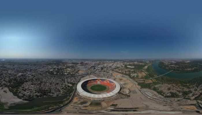 BCCI tweets photos of Sardar Patel Cricket Stadium, world's biggest cricket stadium
