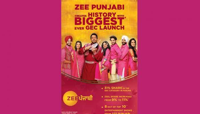 Zee Punjabi breaks records, becomes the biggest general entertainment channel launch