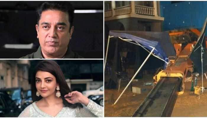 Indian 2 accident: Kamal Haasan, Kajal Aggarwal had a 'providential escape'
