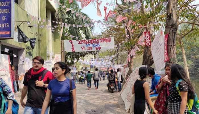 Left wins Jadavpur University students union election, SFI scores big in Arts dept, ABVP progresses in Engineering