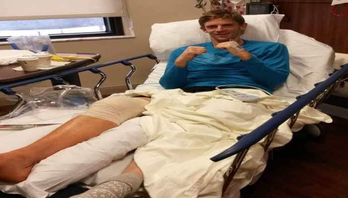 Kevin Anderson sidelined for a few months after knee surgery