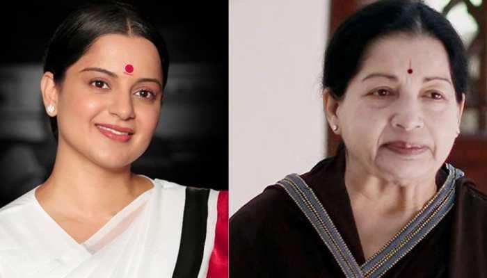 On Jayalalithaa's birth anniversary, Kangana Ranaut's new look from 'Thalaivi' unveiled!