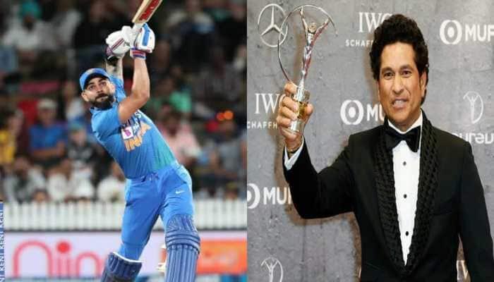 US President Donald Trump lauds Indian cricketers Sachin Tendulkar, Virat Kohli at Motera Stadium