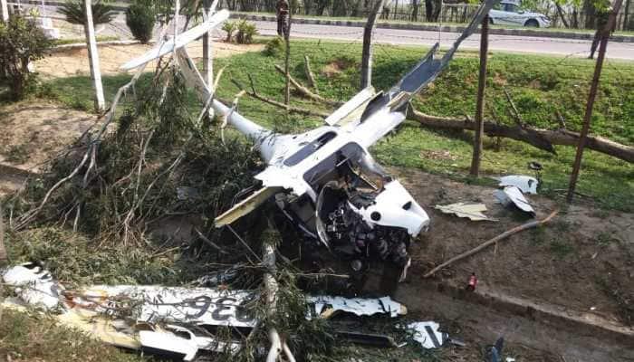 IAF pilot dies, NCC cadet injured in trainer aircraft crash in Punjab's Patiala