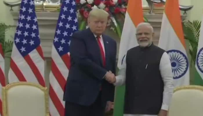 President Donald Trump praises PM Modi's popularity, says 'People love you here'