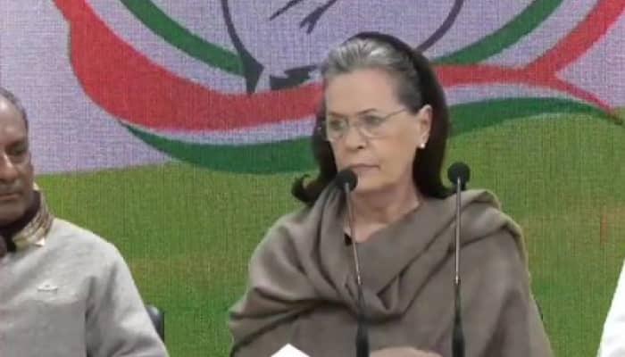 Congress chief Sonia Gandhi demands Amit Shah's resignation over Delhi violence