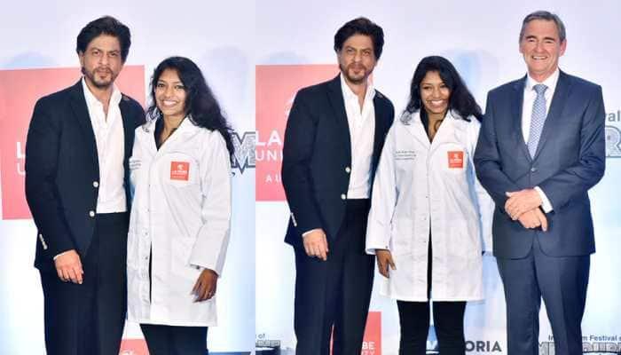 Shah Rukh Khan's video of helping PhD scholar fix her coat goes viral, internet showers love – Watch