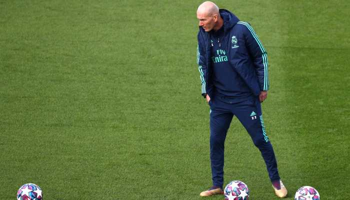Real Madrid did not deserve to lose, says Zinedine Zidane after 2-1 loss to Manchester City in Champions League last-16