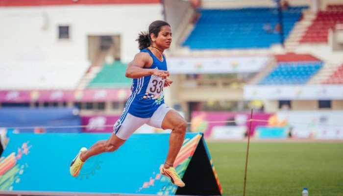 Dutee Chand clinches second gold in Khelo India University Games