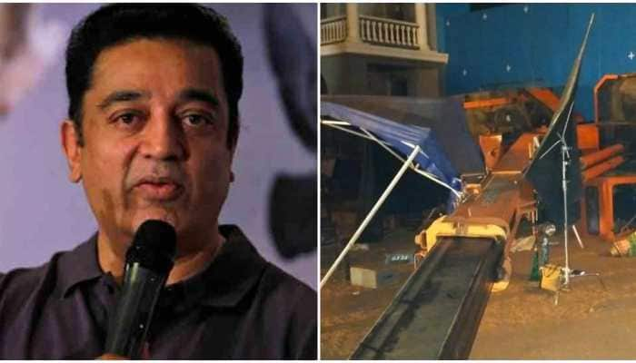Kamal Haasan appears before Chennai Police in connection with 'Indian 2' accident that killed 3