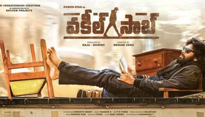 Pawan Kalyan's 'Pink' remake 'Vakeel Saab' has no women on first-look poster
