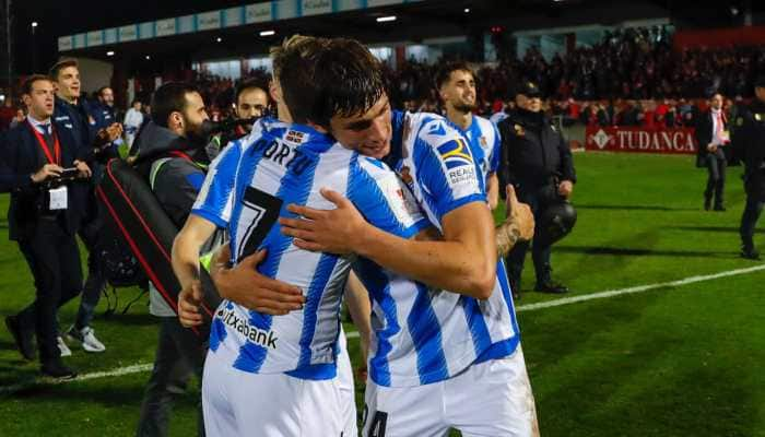 Real Sociedad advance to 1st Copa del Rey final in 32 years
