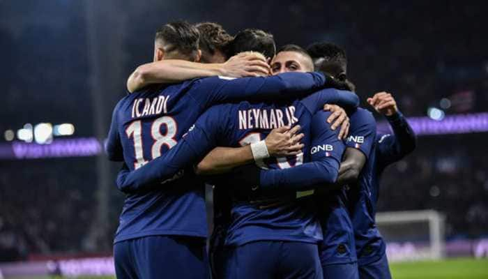 PSG see off Dortmund 2-0 to reach Champions League last-eight