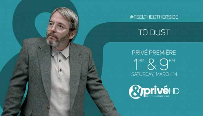 It's time to put your curiosities at ease as &PrivéHD premieres the dark comedy 'To Dust'
