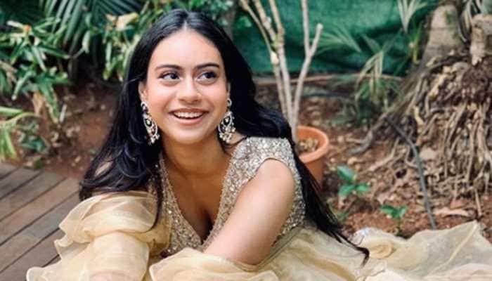 Kajol shares daughter Nysa Devgn's breathtaking pics in ethnic wear!
