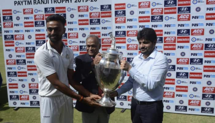 Ranji Trophy final: Saurashtra lift maiden trophy after beating Bengal on 1st innings lead
