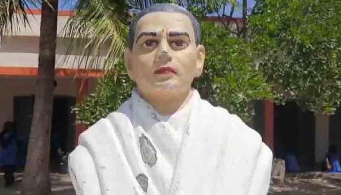 Goddess' idol, statue of freedom fighter vandalised in Andhra Pradesh school