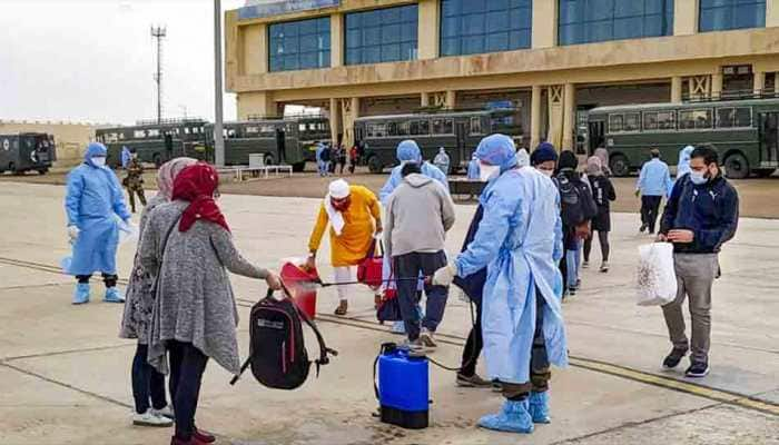 Batch of 53 Indians stranded in coronavirus-hit Iran arrives in India