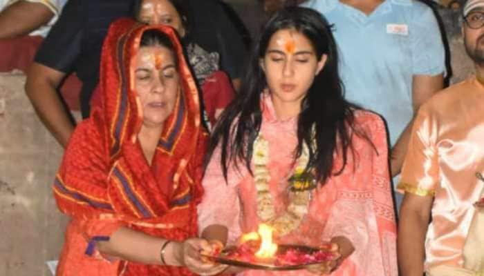 Sara Ali Khan's Varanasi temple visit creates controversy