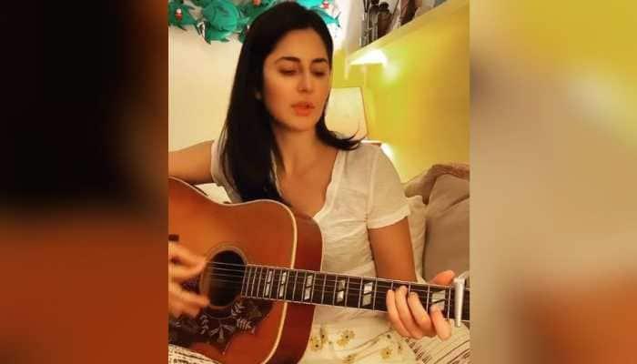 After workout at home, Katrina Kaif tries her hand at guitar amid coronavirus lockdown