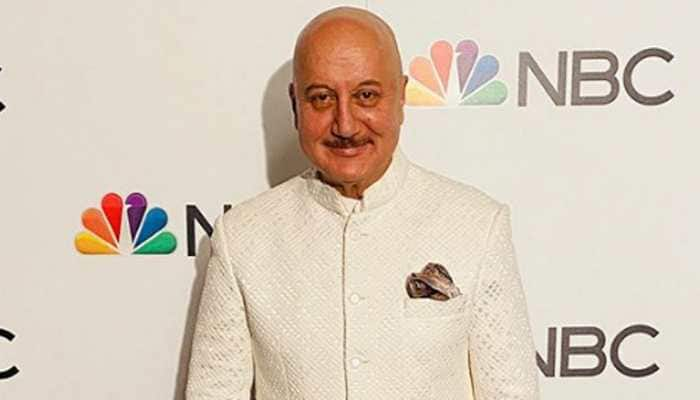 US-return Anupam Kher finds a new way to chat with BFF and neighbour Anil Kapoor in the times of coronavirus COVID-19 - Watch