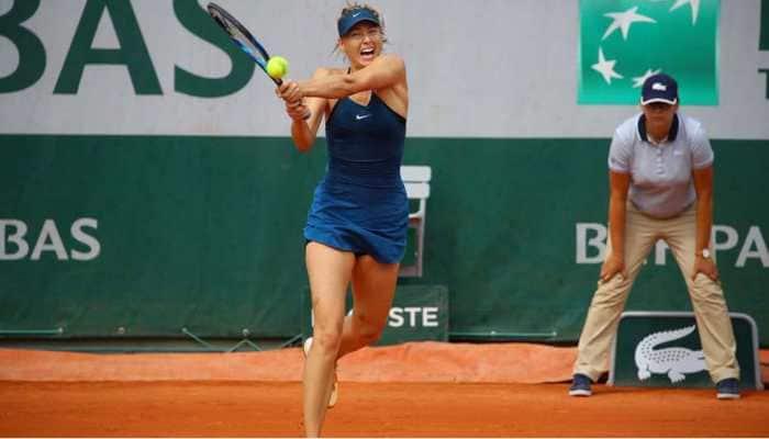Coronavirus COVID-19: Tennis star Maria Sharapova participates in Safe Hands Challenge--Watch